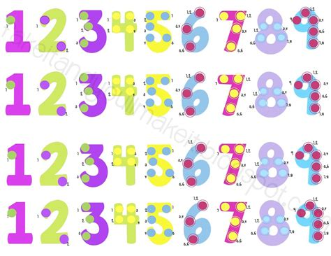 Printable Touch Math Number Line | touch math printables search results calendar 2015