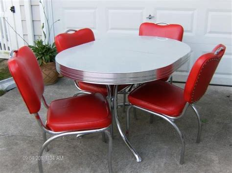 buy vintage 50 s 60 s kitchen table and chairs at