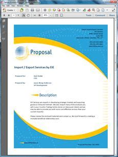 layout of a sales proposal 1000 images about sle service sales proposals on