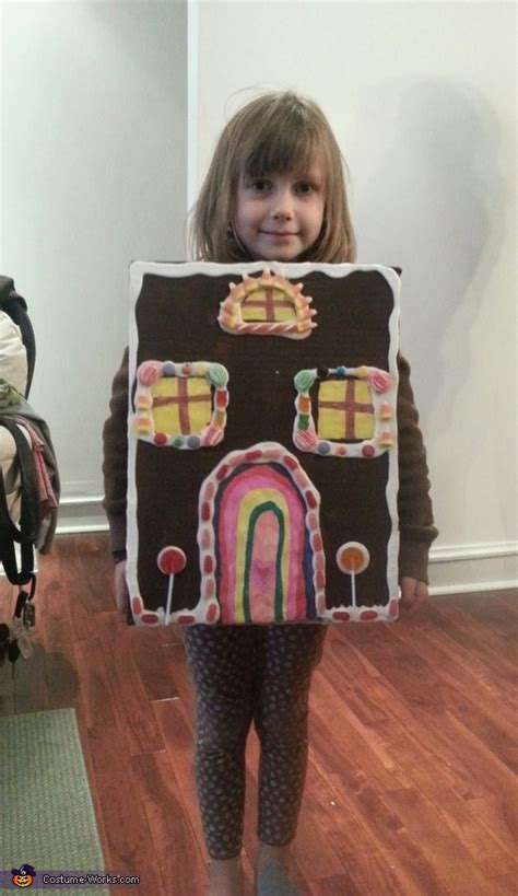 gingerbread house costume