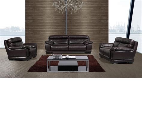 Divani Leather Sofa Dreamfurniture Divani Casa T300 Modern Leather Sofa Set