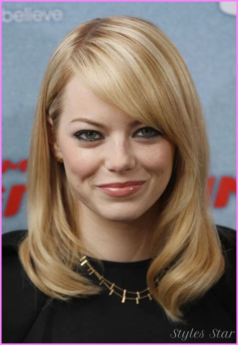 haircuts for long straight hair round face long haircuts for round faces straight hair stylesstar com