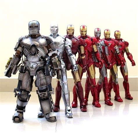 tony starks iron man suits movies iron