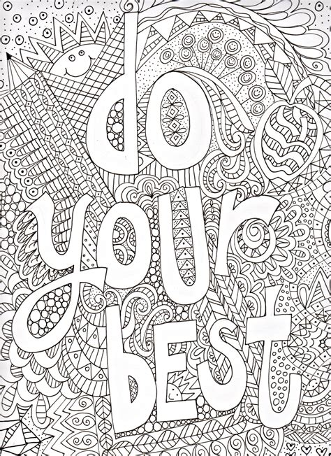 39 Awesome And Free Printable Doodle Art Coloring Pages Free Doodle Coloring Pages