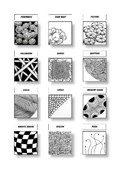 zentangle pattern shattuck zentangle patterns sheet 2 patterns printemps poke root