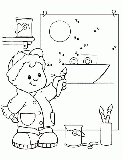 fisher price coloring pages az coloring pages