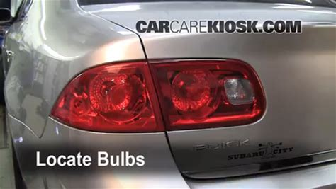 2006 buick lucerne tail light replacement tail light change 2006 2011 buick lucerne 2006 buick