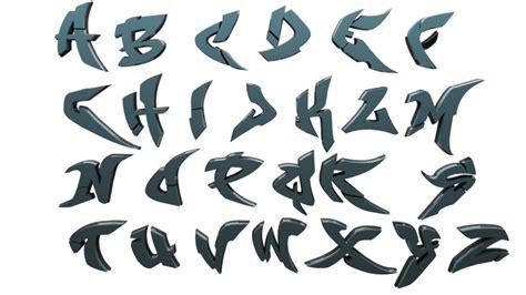 graffiti alfabet   clip art  clip
