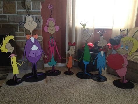 dr seuss whoville people cut outs wolf creations