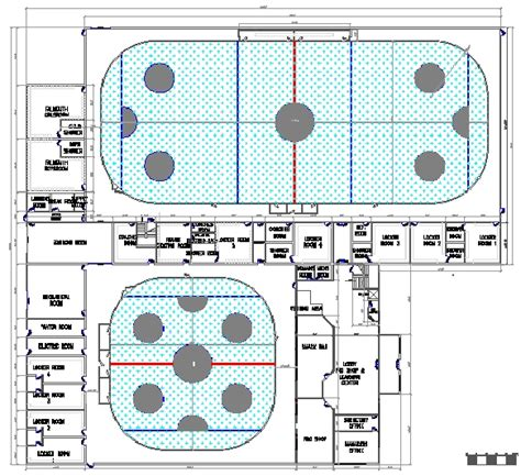 roller skating rink floor plans basic ice rink floor plans site maps architectural drawings