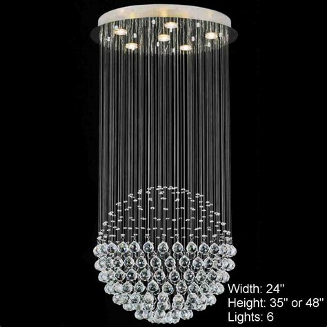 Brizzo lighting stores sphere modern crystal chandelier large mirror stainless steel base 6 lights