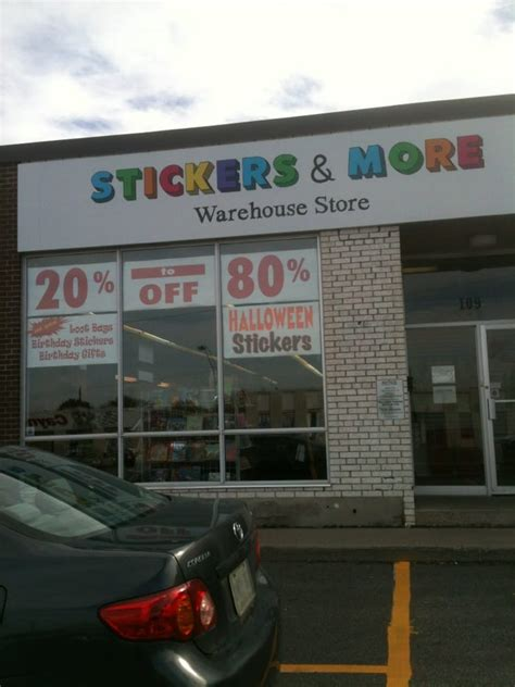 sticker s more warehouse store hobby shops markham