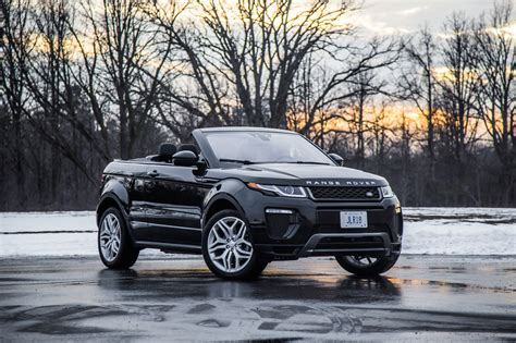 land rover convertible black range rover evoque black convertible pixshark com
