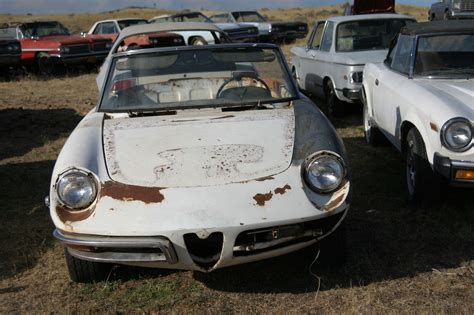 Alfa Romeo Spider Parts by 1969 Alfa Romeo Duetto Spiders 2 Complete Cars Along