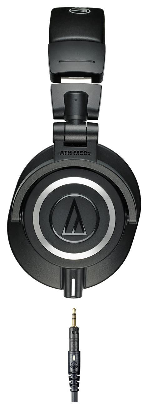 Sale Audio Technica Ath M50x Headphone Recording Black Color Fl audio technica ath m50x monitor headphones black aud athm50x best buy