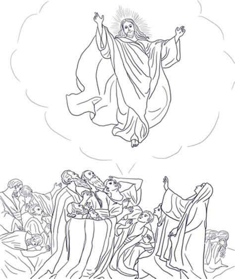 coloring pages jesus going to heaven jesus coloring pages free 9 pics of bible jesus me