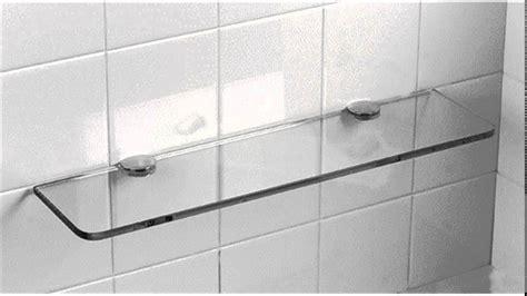 bathroom shower shelf modernize your bathroom with a glass shower shelf