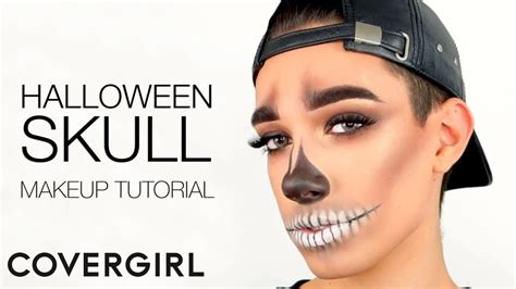 Makeup Covergirl introducing charles skull makeup tutorial