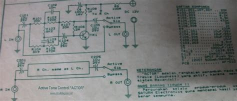Transistor C1213 pin tone circuit using tr c1213 and a561 on