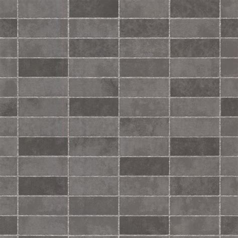 hunter slate rectangle tile wallpaper bolt transitional wallpaper by brewster home fashions