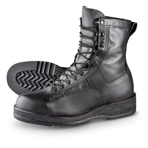 deck boots s wellco 174 waterproof steel toe navy flight deck boots