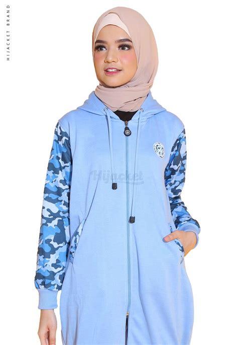 Jaket Hijaber Hijacket Urbanashion Hj Ub Sky Blue Original 4 hj cf sky blue