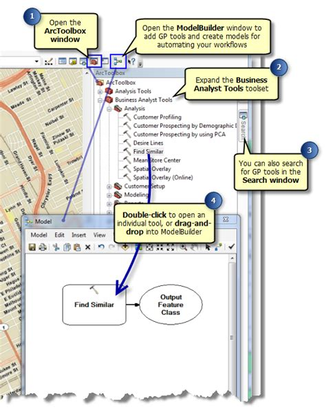 business analyst tools and templates accessing the business analyst gp tools help arcgis desktop