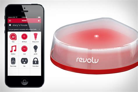 revolv home automation hub uncrate