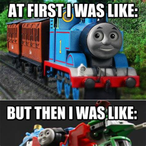 Thomas The Train Meme - a lesson to remember by fringe meme center