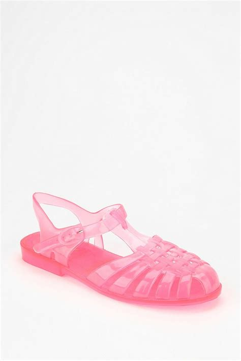 jelly fisherman sandals bc footwear x uo jelly fisherman sandal