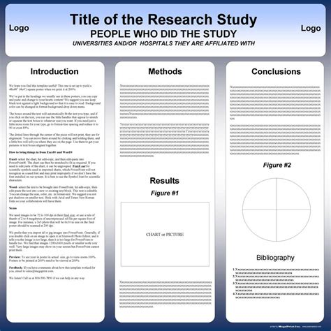 powerpoint template for scientific posters 48x48 research poster template poster