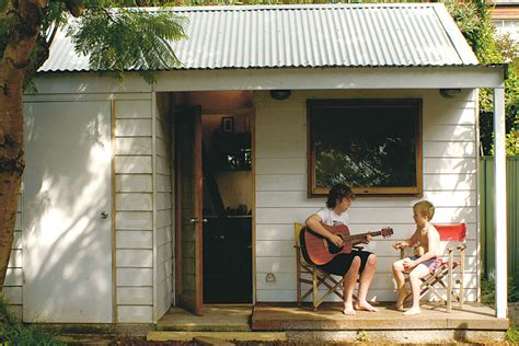 Cheap Bedroom Storage Ideas creating a backyard cabin australian handyman magazine