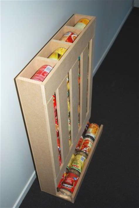 Rv Pantry Storage by Diy Rv Food Storage Can Dispenser Keep The Rv Pantry