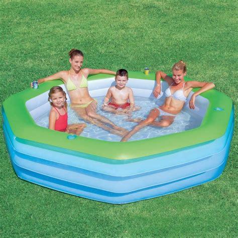Family Swim Poll octagon family pool refreshing summer from kmart