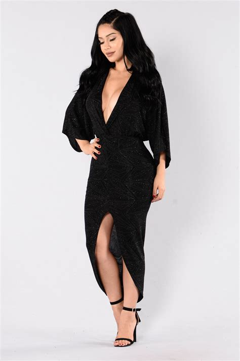 Fashions To Come by Come To Me Dress Black