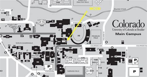map of of colorado boulder of colorado at boulder cus map boulder co