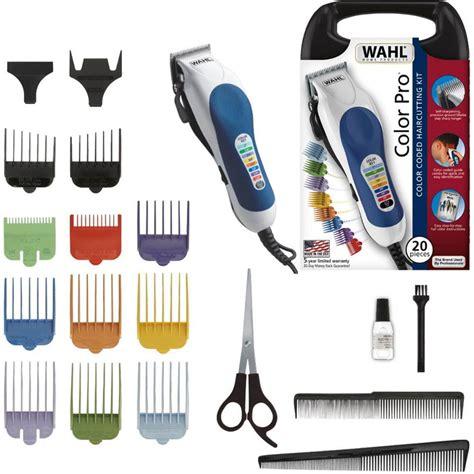 color pro wahl rasuradora color pro 20 piezas crecimiento y