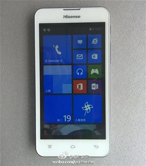 Cell Phone Giveaway 2014 - hisense s windows phone hisense nana is coming gizmochina