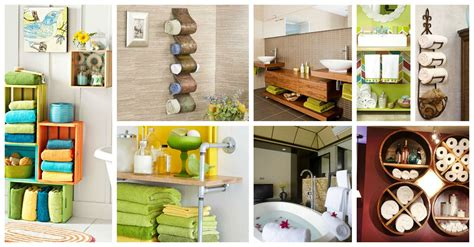 creative ideas for bathroom 20 creative bathroom towel storage ideas