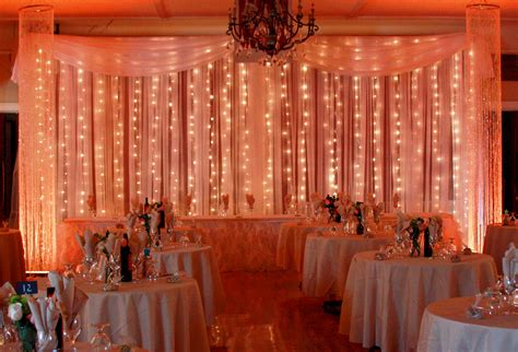 Backdrop Package Wedding Light Backdrop