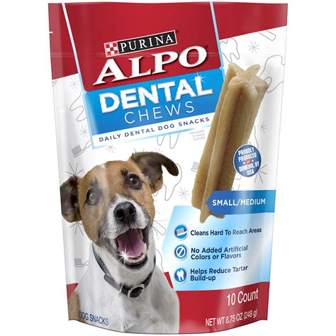 dental chews alpo dental chews 8 75oz