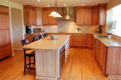 U Shaped Kitchen Designs #869