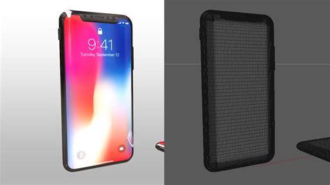 Iphone 3d Model Cinema 4d free iphone x 3d model 171 cinema 4d tutorials