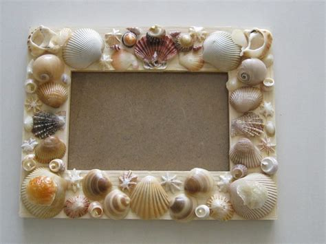 diy picture crafts make your own shell everywhere
