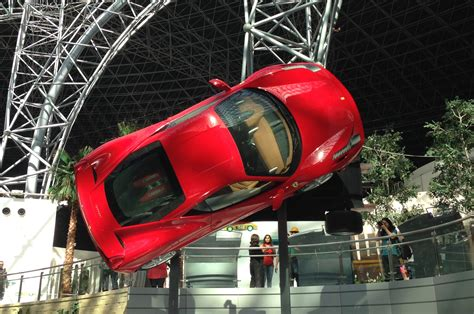 ferrari world inside ferrari world picture special autocar