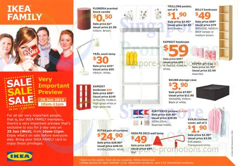 upcoming ikea sales ikea sale 26 jun 6 jul 2014