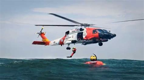 Coast Guard Search Us Coast Guard Helicopter Search And Rescue