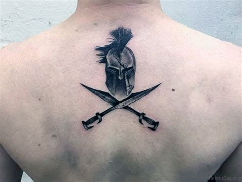 40 sword tattoos for back