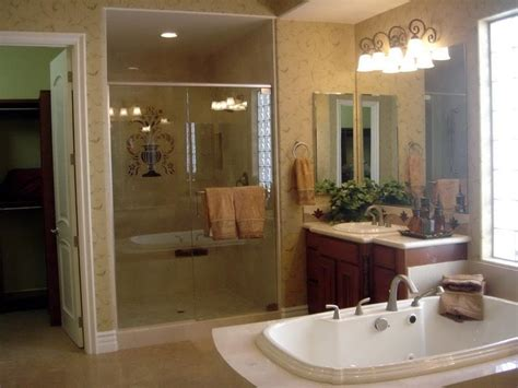 bloombety simple master bathroom decorating ideas master