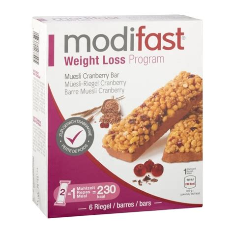 Fitness Barre Cranberry - modifast weight loss program barre muesli cranberry